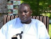 Adama Barrow, nouveau Président de la Gambie