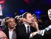 Benoit Hamon, candidat du Parti socialiste en France, crédit photo: AFP