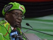 Robbert Mugabe, président du Zimbabwé
