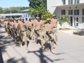 Haiti, première promotion de la Police des FrontièreS (Polifront).