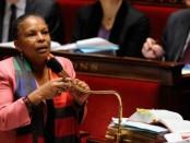 L'ex-ministre de la Justice en France, Christiane Taubira. Crédit photo:(WITT/SIPA)