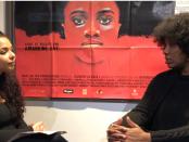 Amandine Gay à droite lors de l'entrevue accordée à Barbara Gineau Delyon
