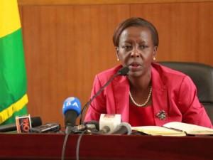 Louise Mushikiwabo, ministre rwandaise des Affaires étrangères