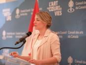 Mélanie Joly, ministre du Patrimoine canadien et ministre responsable du multiculturalisme