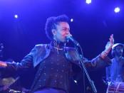 Meklit en concert au Festival Nuits d'Afrique le 13 juillet 2018 à Montréal.