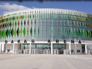 Le palais des sports Dakar Arena, Sénégal.