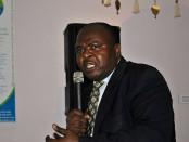 Guy Pascal Zambou, PDG Foire africaine de Montréal. Crédit photo: L'encre Noir