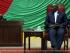 Le président de l'Assemblée nationale Abdou Karim Meckassoua, lors des débats autour de la motion concernant sa destitution. © RFI / Gaël Grilhot