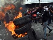 Manifestation en Haiti