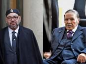 Le Roi du Maroc Mohammed VI (gauche) et le président algérien, Abdelaziz Bouteflika. © ©RYAD KRAMDI/AFP - REUTERS/Philippe Wojazer (Montage RFI)