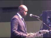 Ousmane Sonko, député et candidat à l'élection présidentielle 2019 au Sénégal