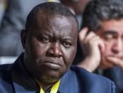 Patrice-Edouard Ngaïssona, crédit photo: AFP