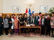 Lancement du Mois de l'histoire des Noirs le 1e février 2019 à la mairie de Montréal