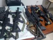 Armes saisies en Haiti