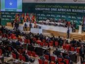 L'accord établissant la ZLEC continentale a été signé par 49 pays africains le 21 mars 2018, à Kigali. © © REUTERS/Jean Bizimana