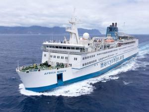 L'Africa Mercy est le plus grand navire-hôpital du monde. | © Mercy Ships