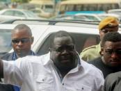L'ancien ministre zambien et l'un des principaux détracteurs du président Edgar Lungu, Chishimba Kambwili.