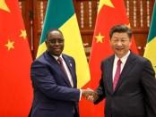 Le président sénégalais Macky Sall et le président chinois Xi Jinping